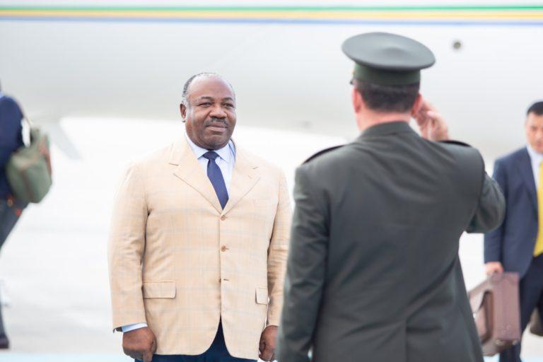 Ali Bongo, le président du Gabon