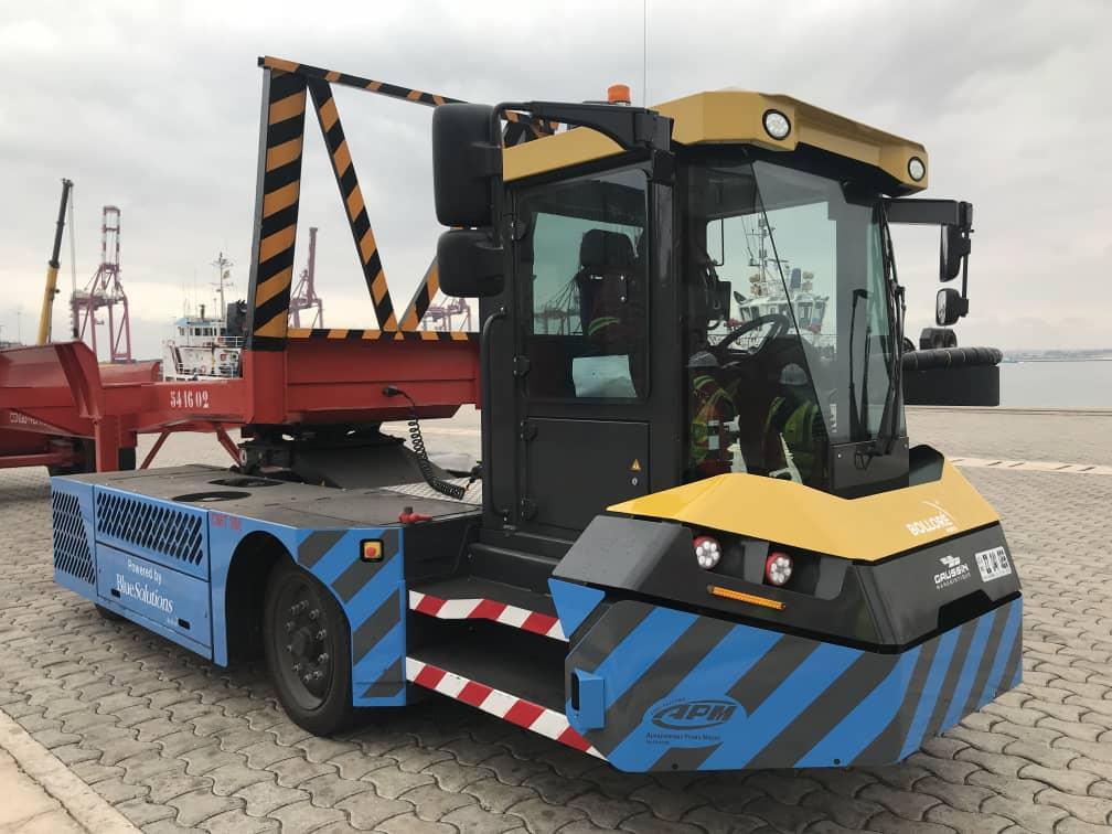 Congo Terminal teste avec succès un tracteur 100% Électrique