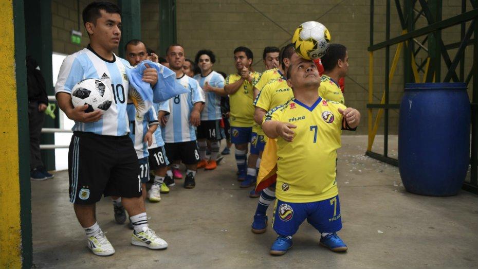 la première Copa America réservée aux nains