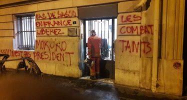 Ouverture d'une enquête après des tags sur l'ambassade du Congo à Paris