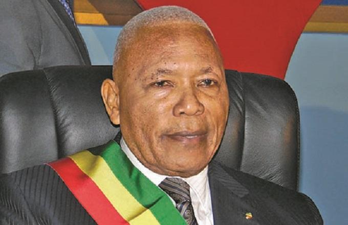 Isidore Mvouba, le président de l'Assemblée nationale du Congo