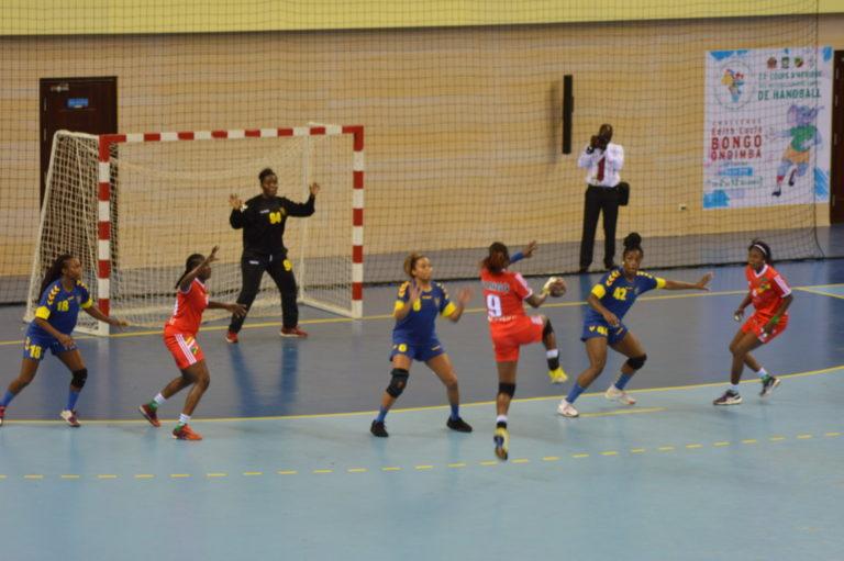 CAN seniors dames de handball Congo - RDC