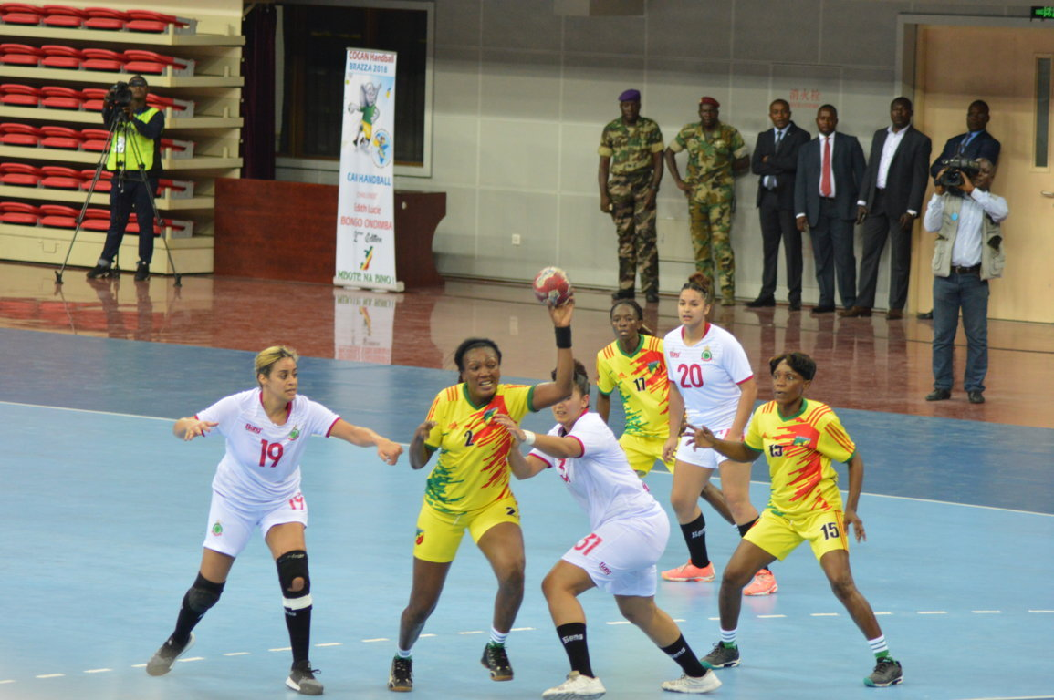 Can handball féminin : le Congo bat d'entrée le Maroc