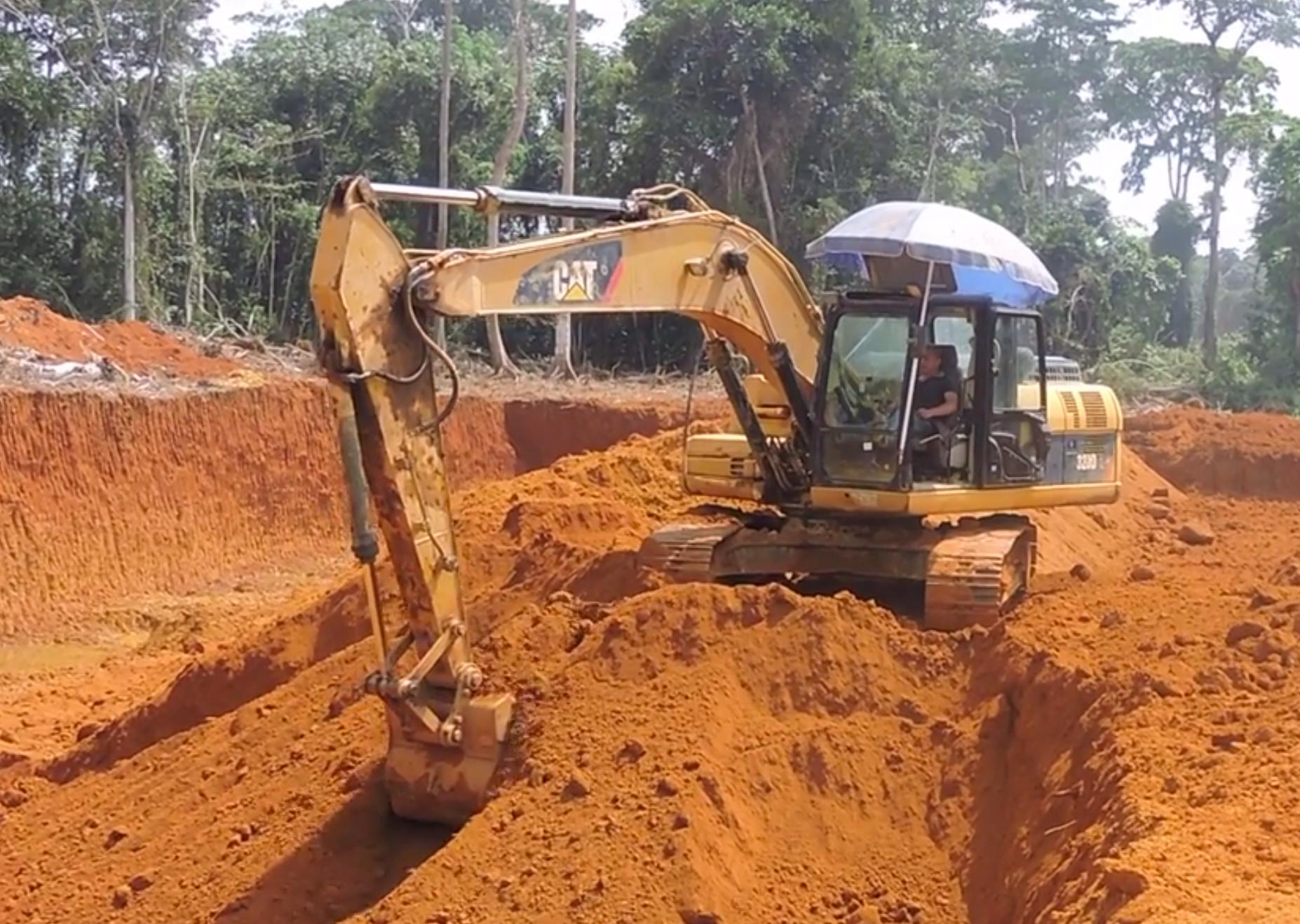 Congo : Exploitation illégale et scandaleuse de l'or à Kellé
