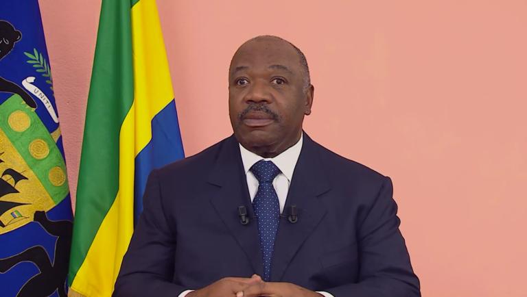 Le président Ali Bongo leur de ses vœux télévisés aux Gabonais le 31 décembre 2019