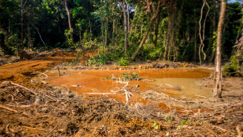 Une société d'exploitation de l'or mise en demeure au Congo, pour la dégradation de l'environnement