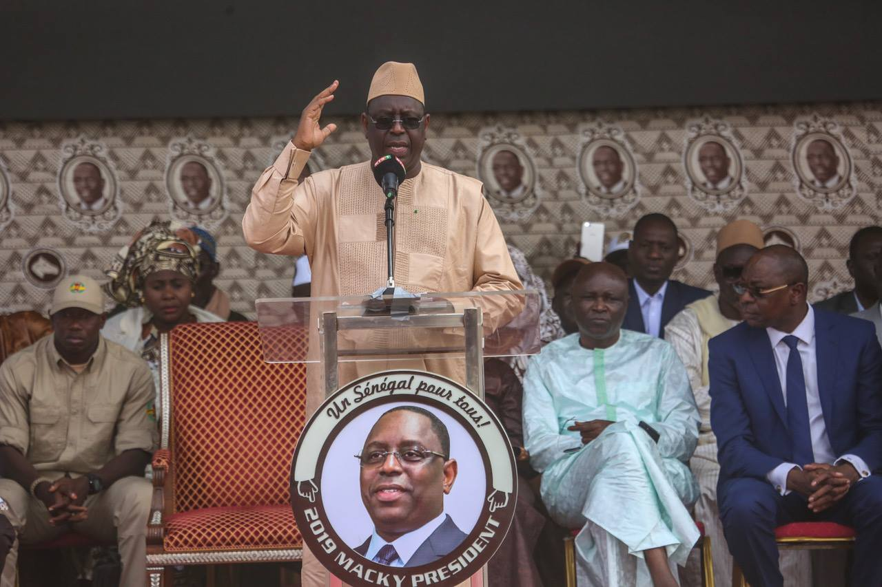 Macky Sall a été réélu président du Sénégal