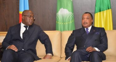 Arrivée à Brazzaville de Félix Tshisekedi pour une visite officielle