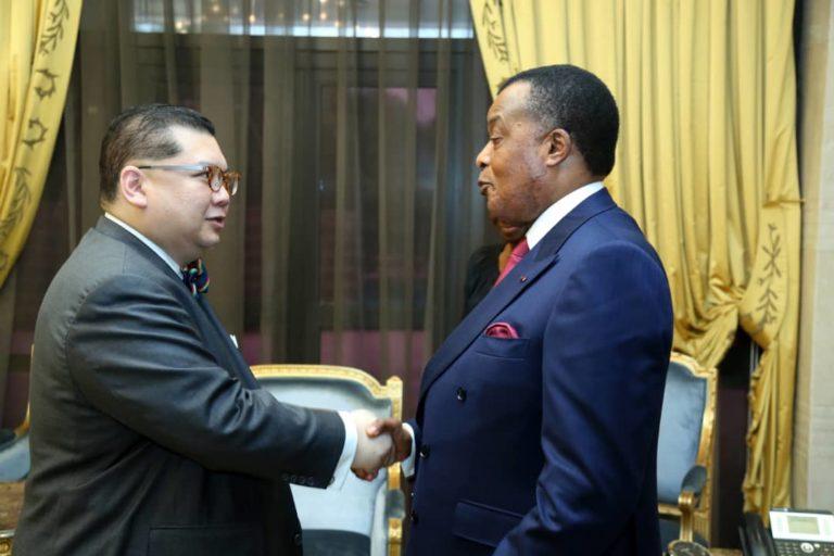 Peter Pham et Sassou