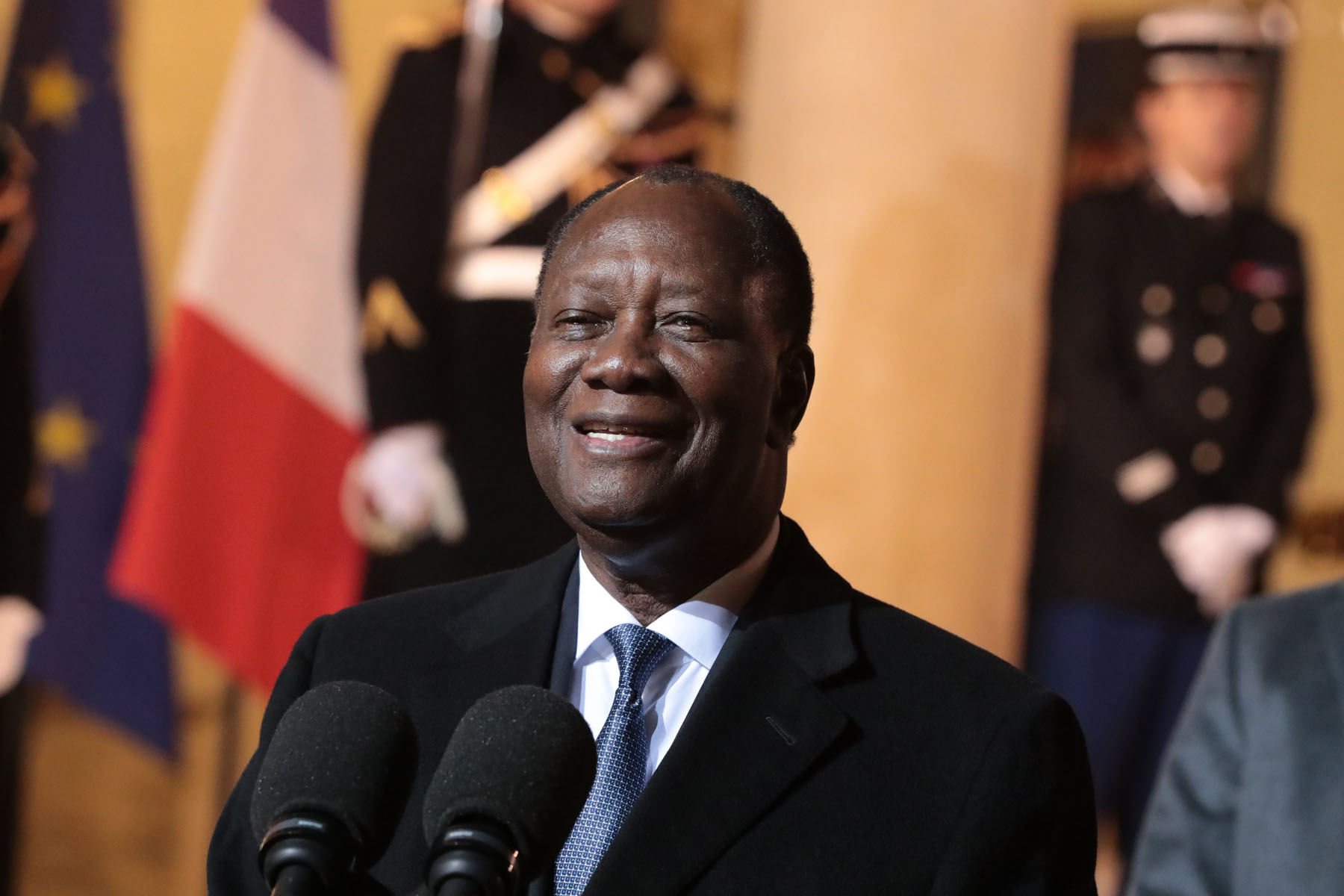Le chef de l'Etat ivoirien, Alassane Ouattara ©DR
