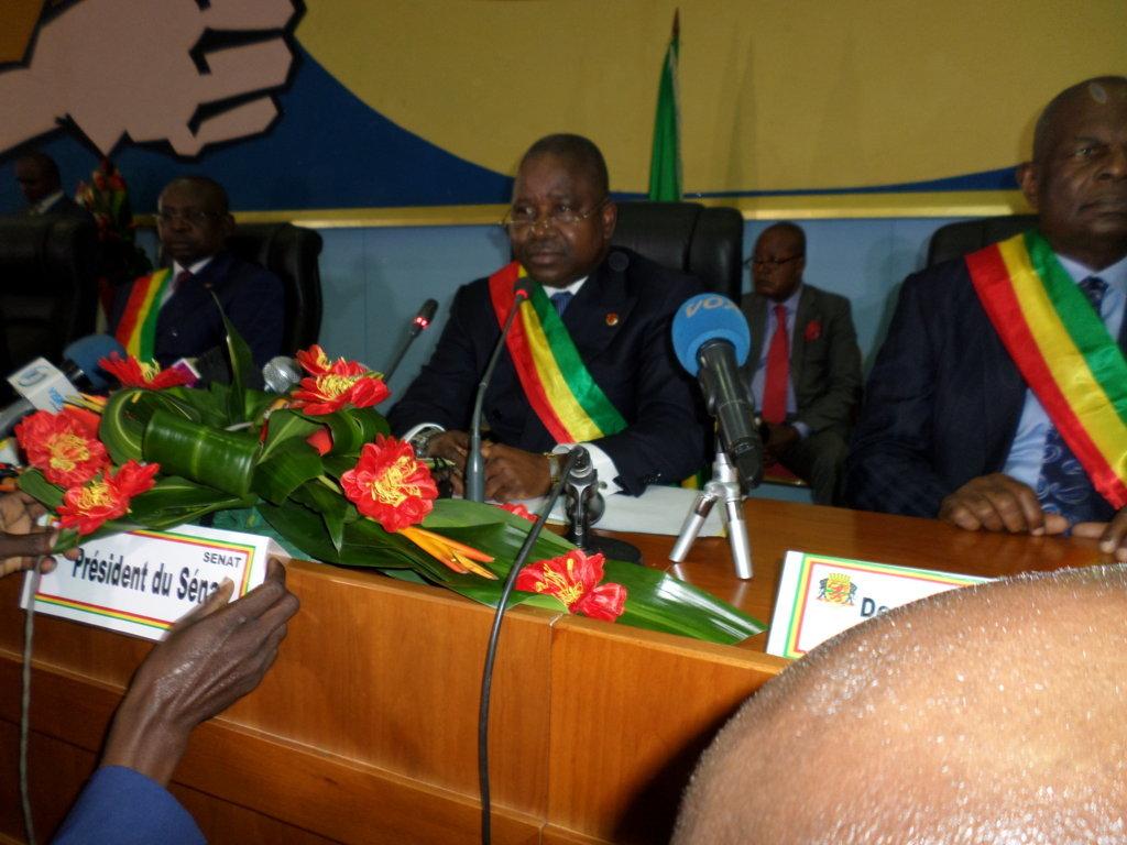Le président du Sénat congolais, Pierre Ngolo