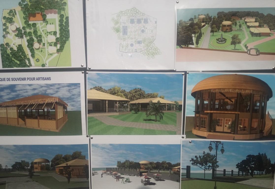 Le plan du projet de réhabilitation du site des Cataractes