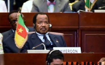 Le chef de l'Etat camerounais, Paul Biya, nouveau président en exercice de la CEMAC