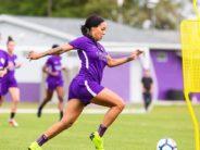 Football : Sydney Leroux Dwyer, enceinte de 6 mois et toujours sur les terrains