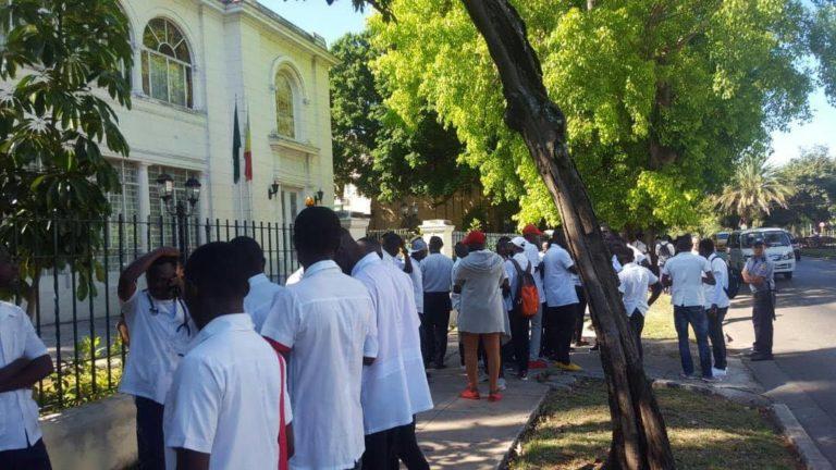 des Étudiants Congolais à Cuba