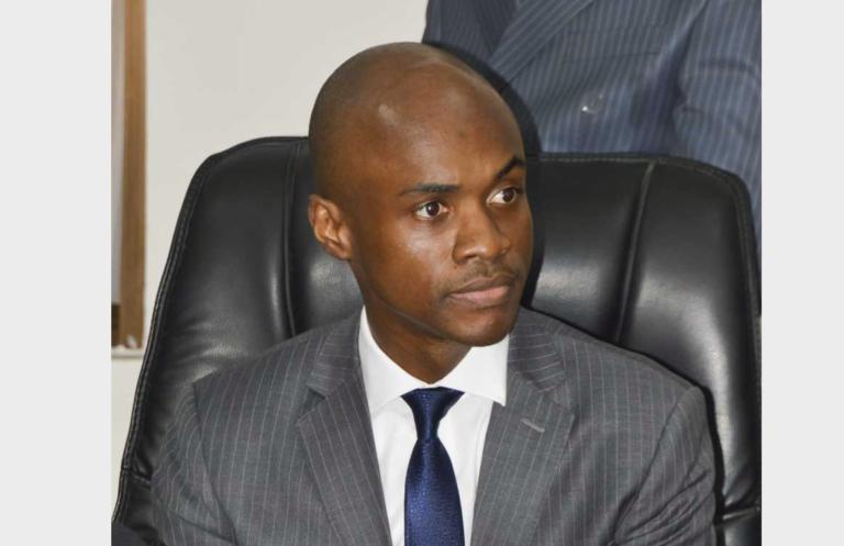 Le directeur général des douanes, Guénolé Mbongo Koumou