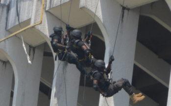 Brazzaville – Sécurité : des policiers en exercice de réactivité pour le maintien d'ordre public