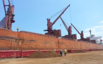 Le Congo exporte le fer vers la Chine