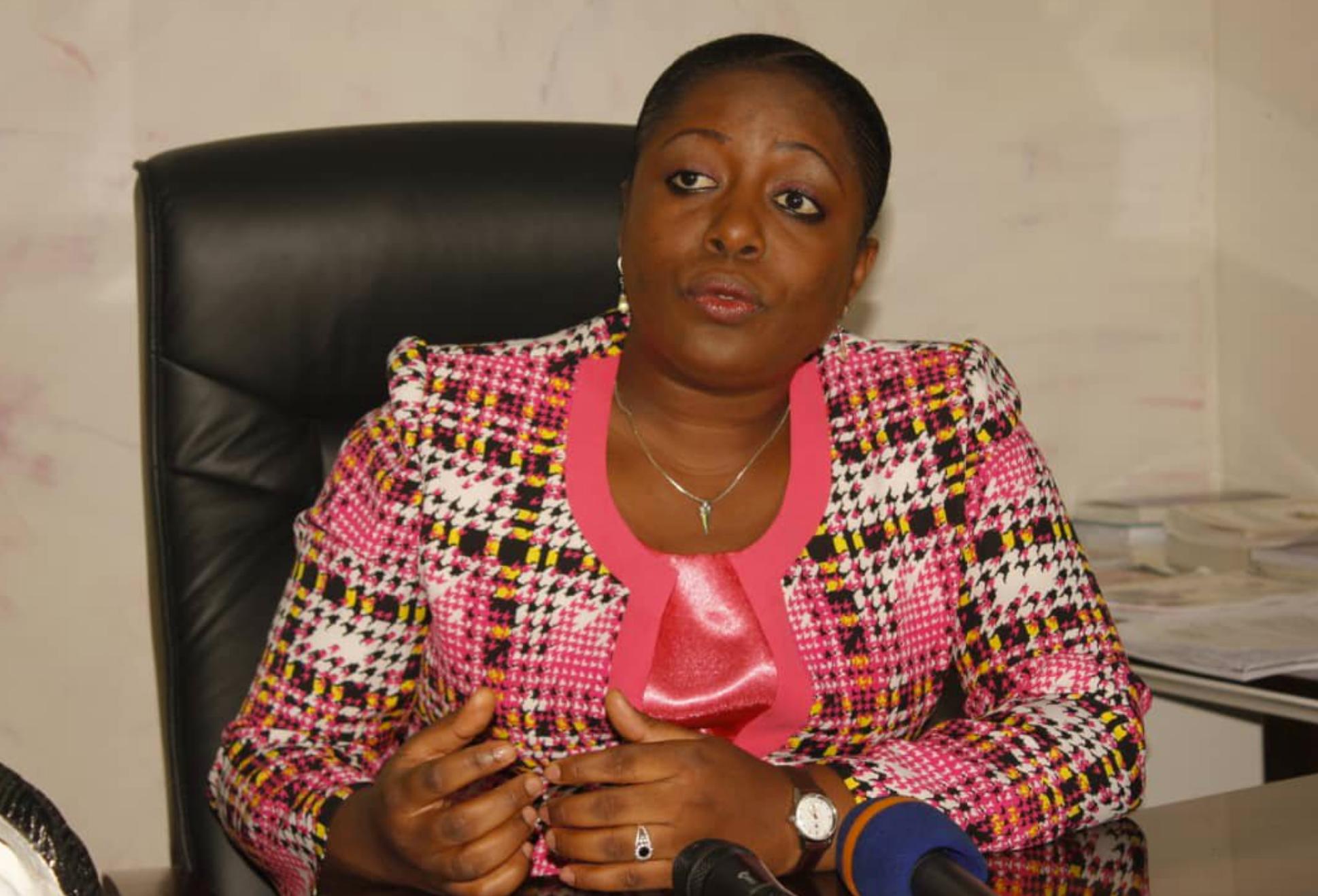 Destinée Ermela Doukaga, ministre de la Jeunesse et de l'Education civique