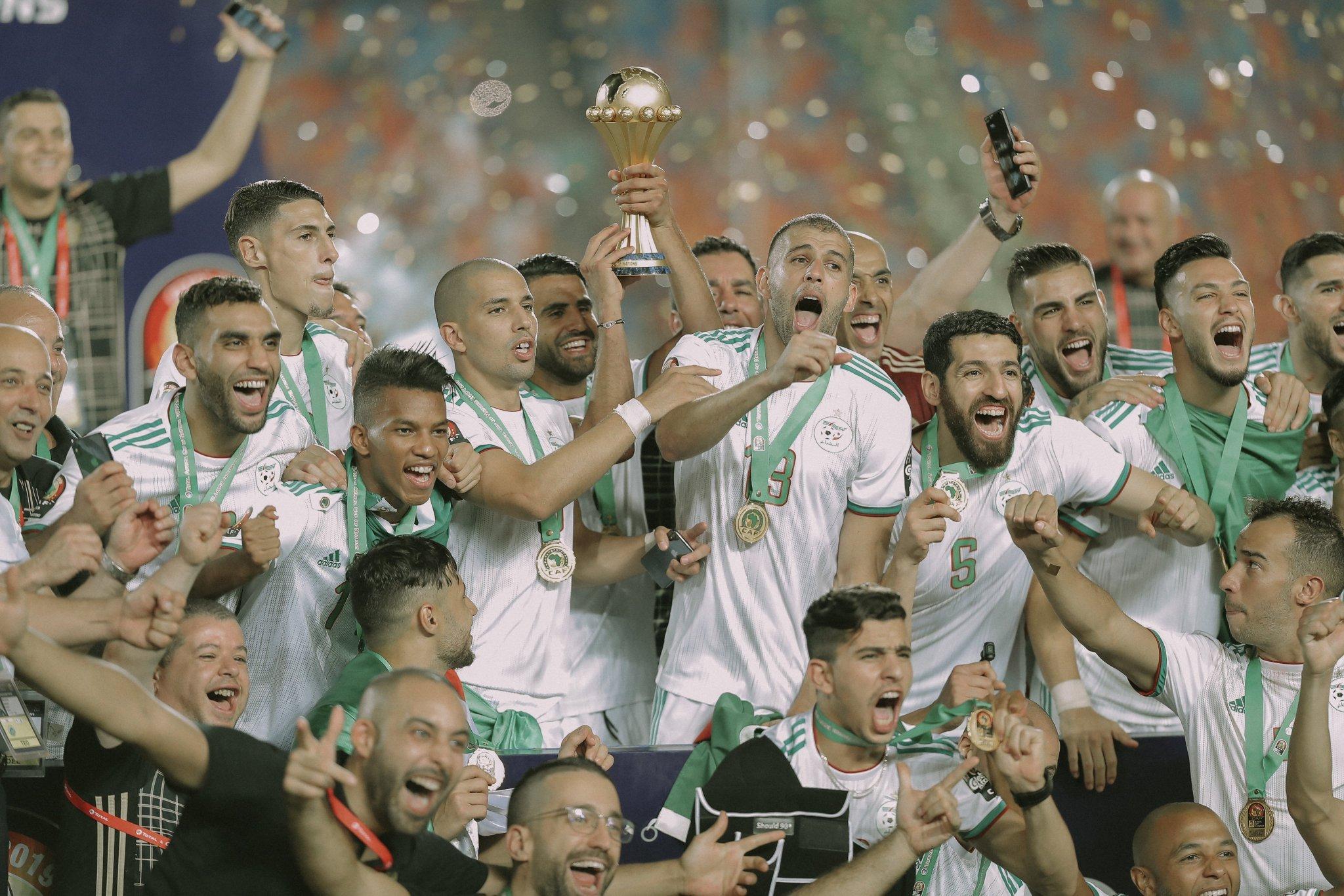 La victoire et le titre pour l'Algérie ©DR