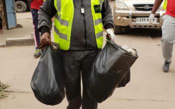 Lancement d'une opération zéro déchets plastiques au Congo