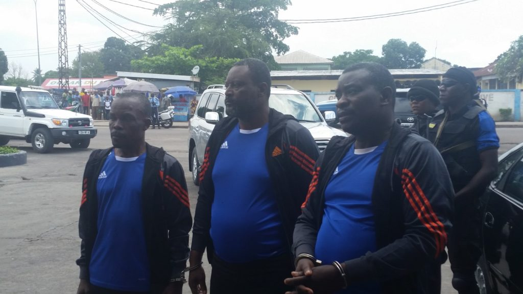 Congo - Vols à main armée : trois braqueurs font la reconstitution des faits