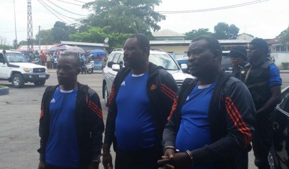 Congo : trois braqueurs font la reconstitution des faits