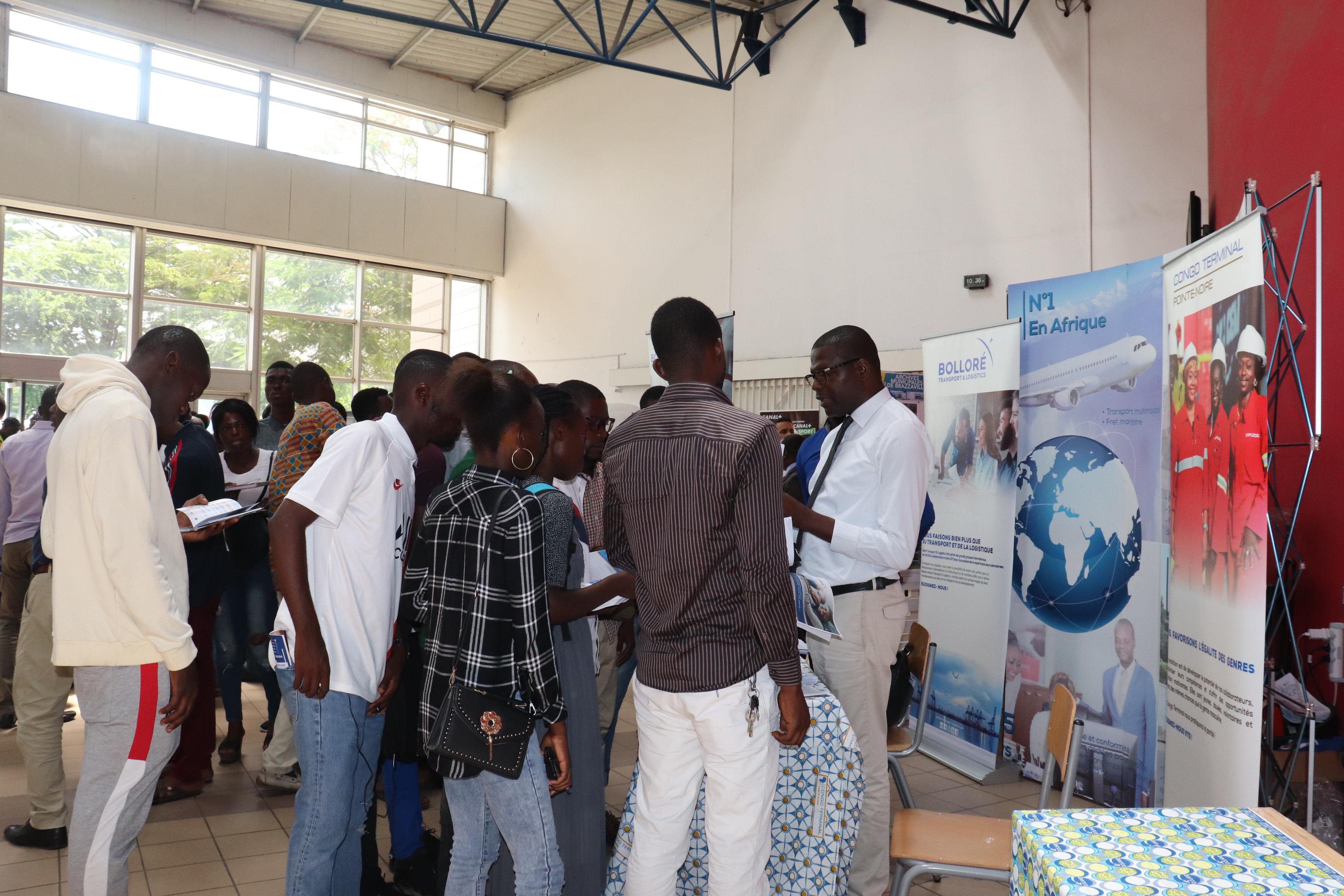 Congo Bolloré Transport & Logistics appuie l'orientation des études