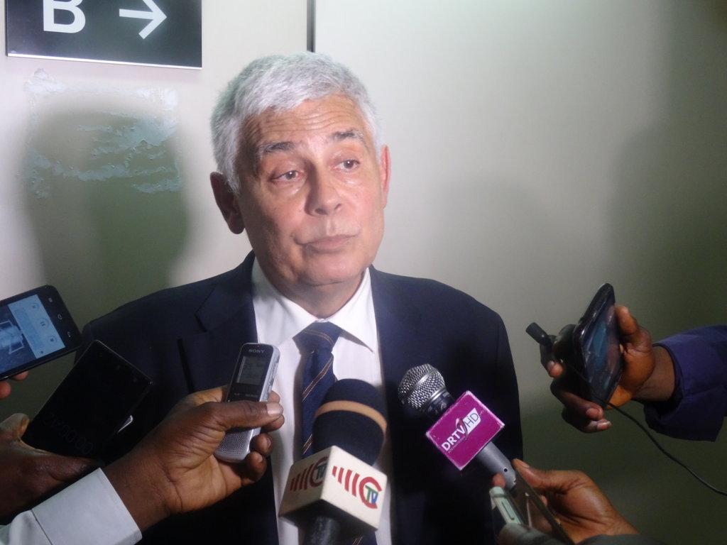 L'ambassadeur de l'Union européenne(UE) au Congo, Raul Mateus Paula