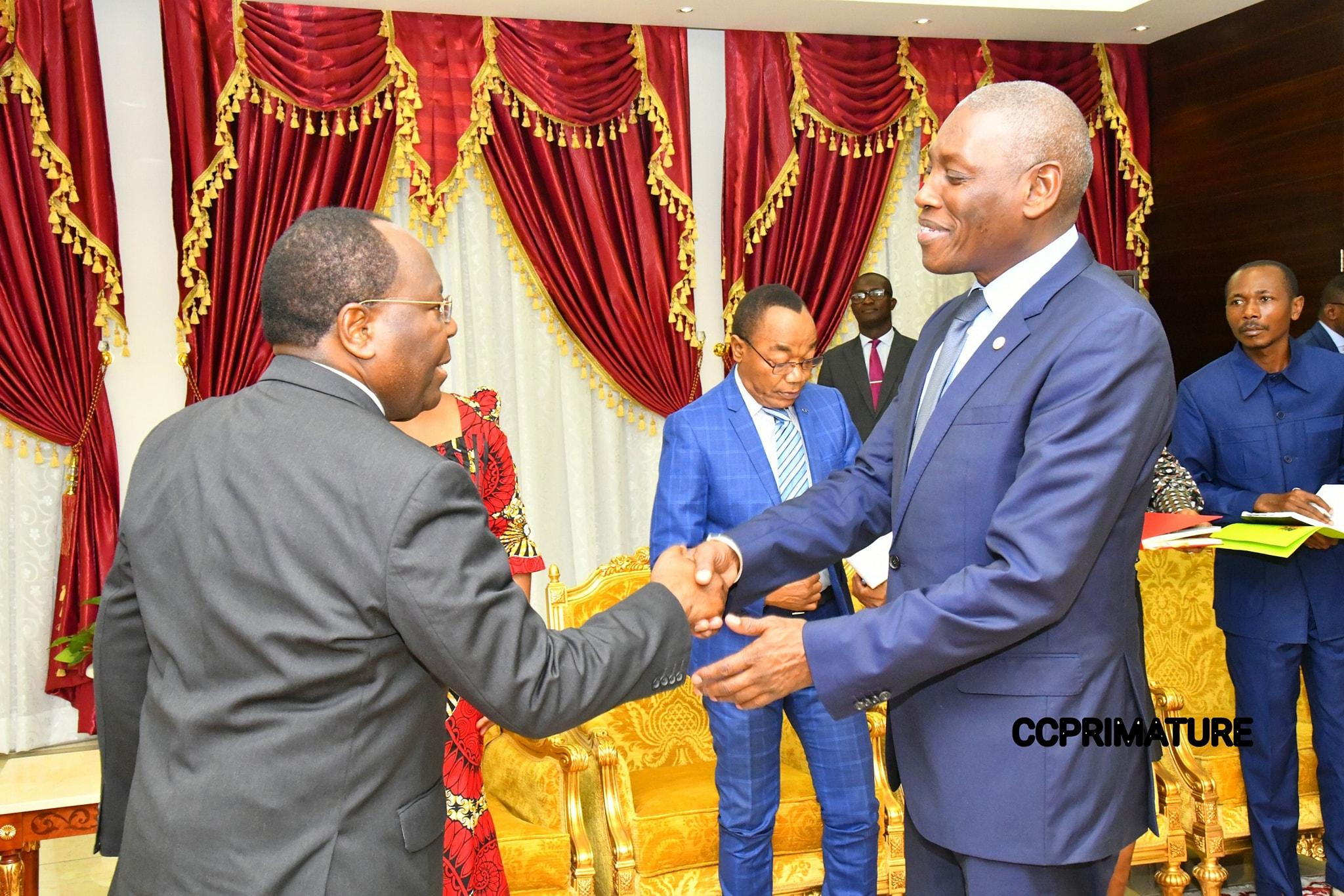 Clément Mouamba et Mabingue Ngom