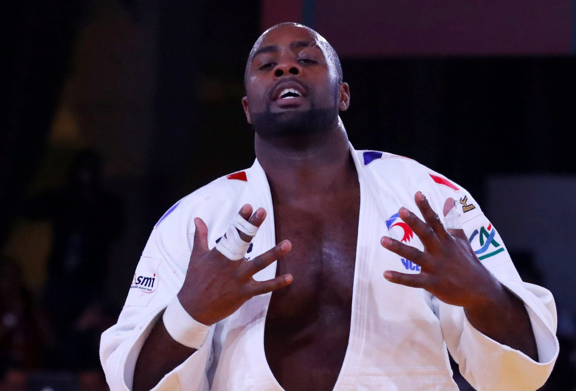 Teddy Riner a été battu ce matin en qualifications lors du Grand chelem de Paris