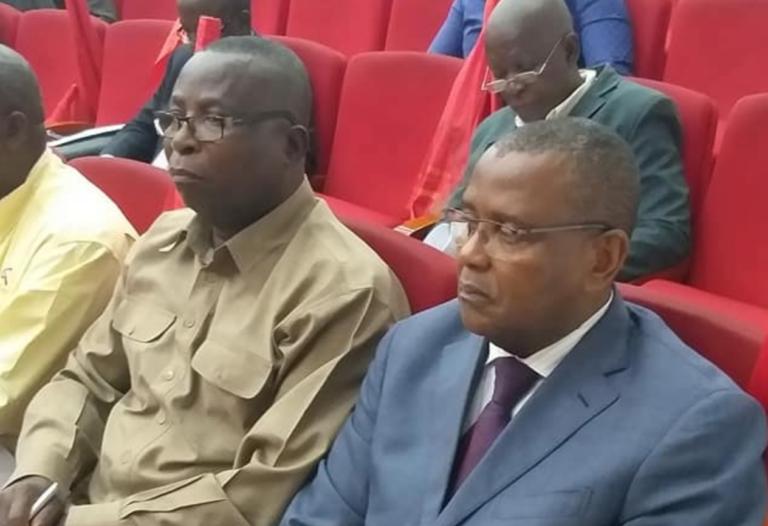 Pierre Cébert Ibocko-Onangha et Christian Roger Okemba