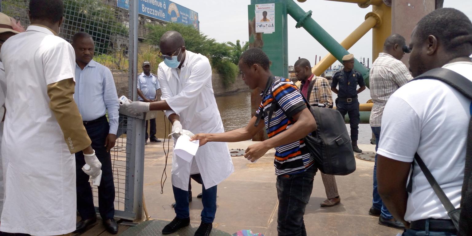 Des étudiants congolais à Kinshasa