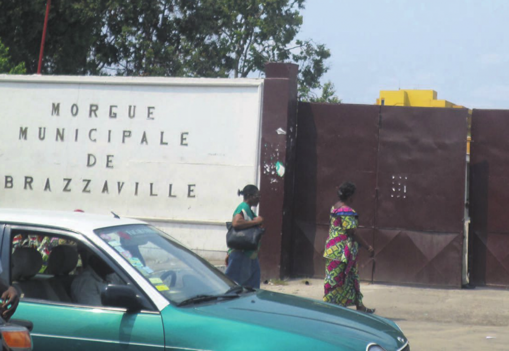 La morgue municipale de Brazzaville