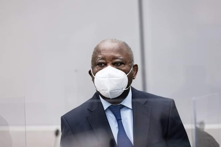 Laurent Gbagbo, le 31 mars 2021 à la CPI.