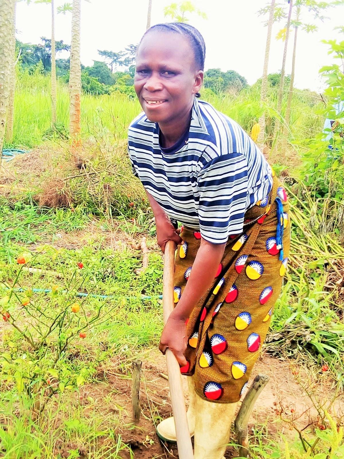 Monique agriculture Congo